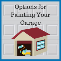 Blue Sky Builders garage paint options