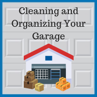 Blue Sky Builders garage cleaning and storage