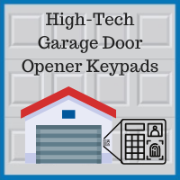 Blue Sky Builders garage door opener wireless keypad
