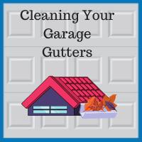 Blue Sky Builders garage gutter cleaning water damage prevention
