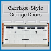 Blue Sky Builders carriage-style garage doors