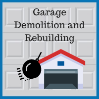 Blue Sky Builders garage demolition safety