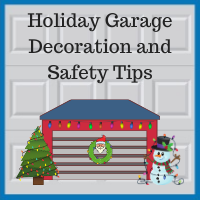 Blue Sky Builders decorating your garage for the holidays