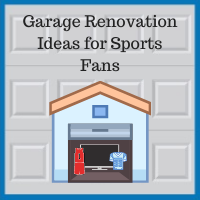 Blue Sky Builders garage updates for watching sports