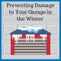 Blue Sky Builders garage snow ice damage prevention