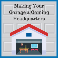 Blue Sky Builders garage renovation video gaming