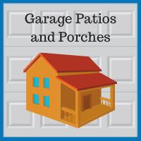 Blue Sky Builders garage patio or porch