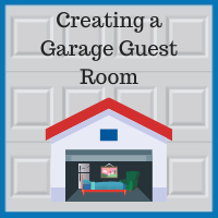 Blue Sky Builders garage guest room