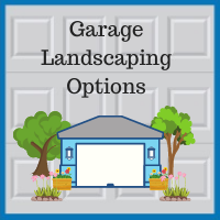 Blue Sky Builders garage landscaping