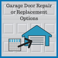 Blue Sky Builders garage door replacement and hardware repair