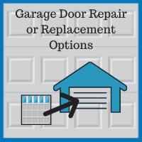 Blue Sky Builders garage door replacement and hardware repair