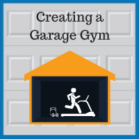 Blue Sky Builders creating a garage gym