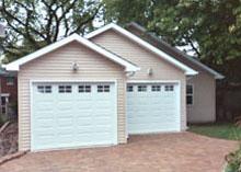Custom Garage 34by38 Offset Gable
