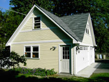 Custom Garage Reverse Gable Dormer 28by22 2