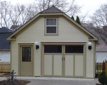 Custom Garage Clip Gable 18by22