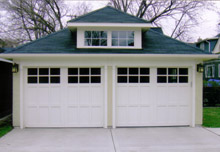 Custom Garage Hip Dormer 22by22