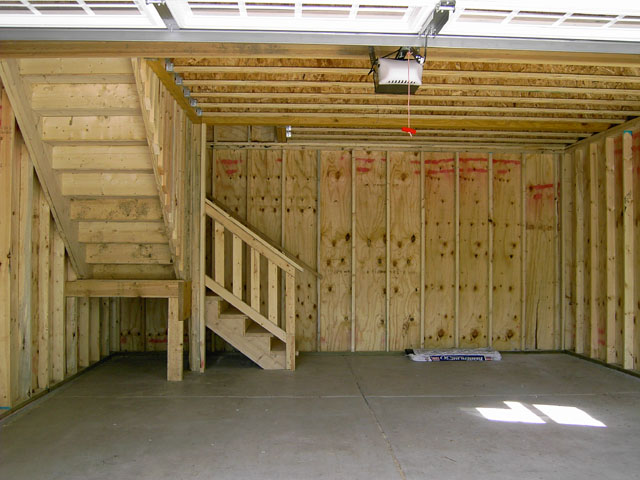 Custom Garage Features Blue Sky Builders