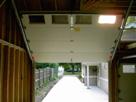 Garage Feature Overhead Door Pitchback 2