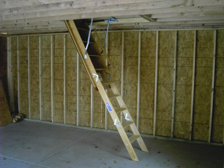 Garage Feature Pull Down Staircase
