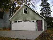 24x24 Gable Garage