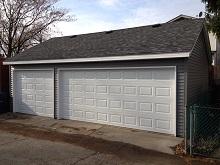 28x20 Reverse Gable Garage