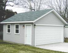 Gable Garage 18by20 2