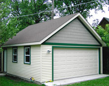 Gable Garage 20by20