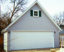 Gable Garage 22by20