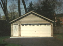 Gable Garage 22by20 2Car