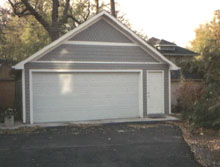 Gable Garage 22by20 Gray
