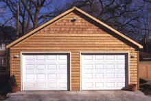 Gable Garage 22by20 Wood