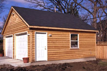 Gable Garage 22by20 Wood 2