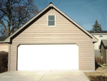 Gable Garage 22by22 One Window