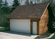 Gable Garage 22by22 Reverse
