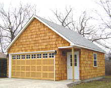 Gable Garage 22by24 2