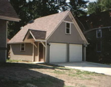 Gable Garage 22by24 Light Grey
