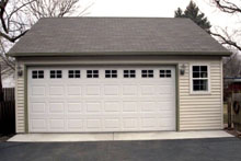 Gable Garage 22by24 Reverse