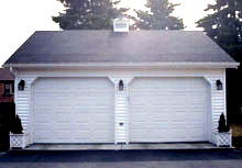 Gable Garage 22by24 Reverse 2Car