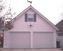 Gable Garage 22by26 White