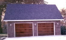 Gable Garage 24by22 Brick