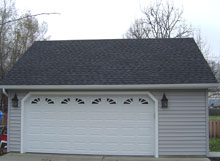 Gable Garage 24by22 Reverse