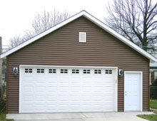 Gable Garage 24by22 brown