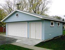 Gable Garage 24by24 2