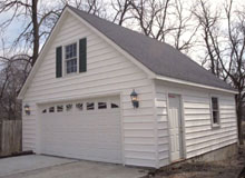 Gable Garage 24by24 White