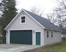 Gable Garage 24by40 2