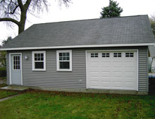 Gable Garage 29by25 Reverse 2
