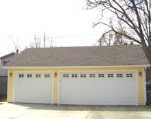Gable Garage 30by24 Reverse