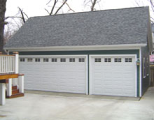 Gable Garage 32by22 Reverse