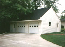 Gable Garage 34by22 Reverse