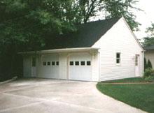 Gable Garage 34by22 Reverse